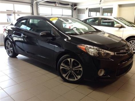 2016 Kia Forte Koup 2.0L EX w/SunroofLOW KMS/1 OWNER LOCAL TRADE!!!