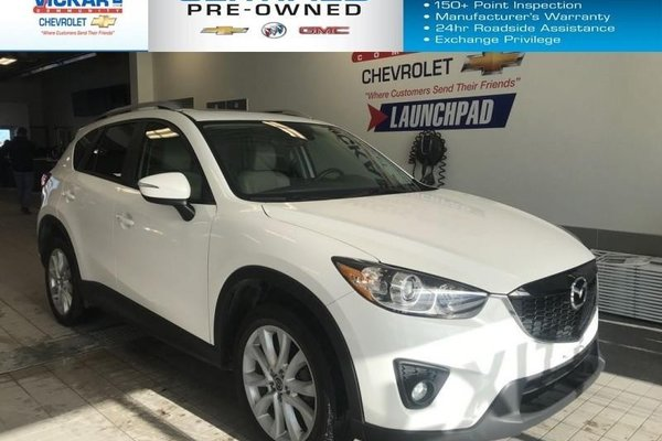 2015 Mazda CX-5 GT   AWD, LEATHER SEATS, SUN ROOF, BLIND SPOT DETECTION   - $179.05 B/W