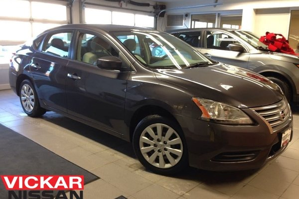 2013 Nissan Sentra 1.8 S/1 OWNER LOCAL TRADE!!