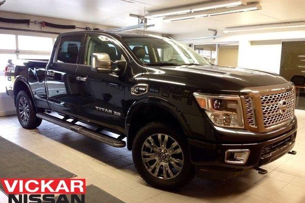 Used 2016 Nissan Titan Xd Platinum Reserve Diesel Low Kms Black