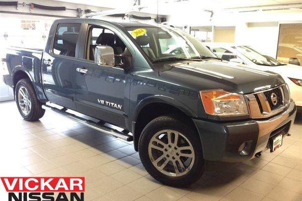 2014 Nissan Titan SL/LEATHER/NAVI/MOONROOF!!