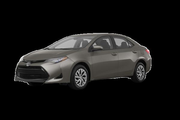 2018 Toyota Corolla LE CVT