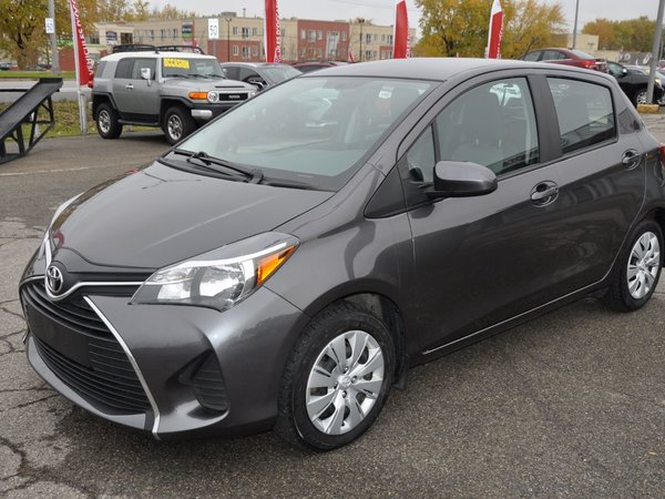 2015 Toyota Yaris 5 PORTES HATCHBACK MAN. (AIR CLIMATISÉ)