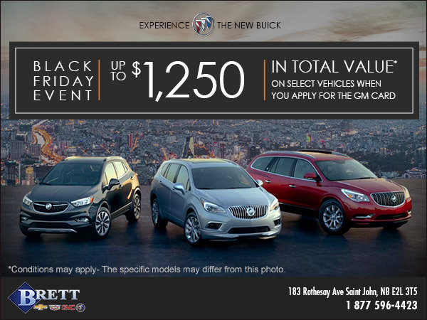 Buick's Monthly Sales Event!