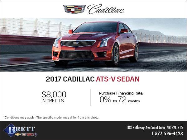 Save on the 2017 Cadillac ATS-V Sedan