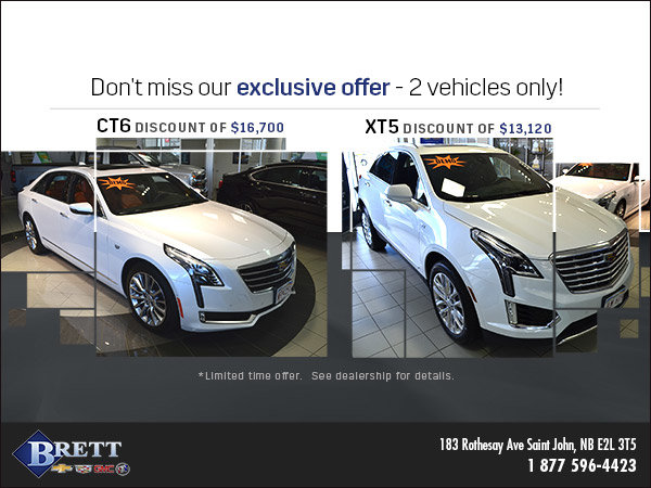 Save on CT6 and XT5 Demos Today!