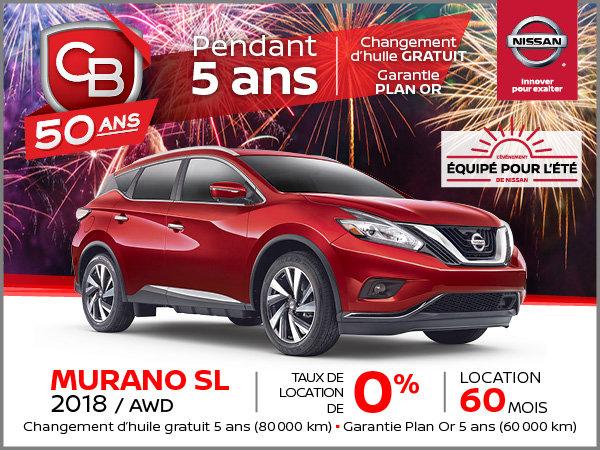 MURANO SL 2018 AWD