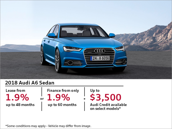 Get the 2018 Audi A6 Today
