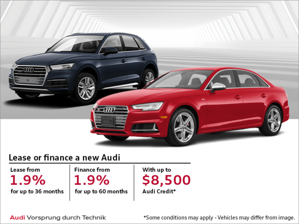 Audi's Monthly Sales event!