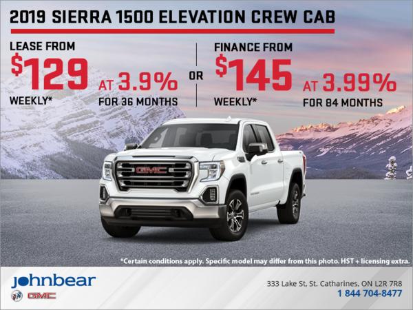 The All-New 2019 Sierra 1500