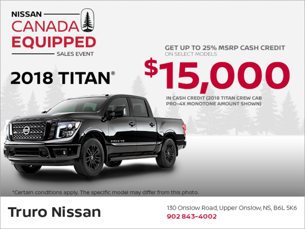 Get the 2018 Titan Today!