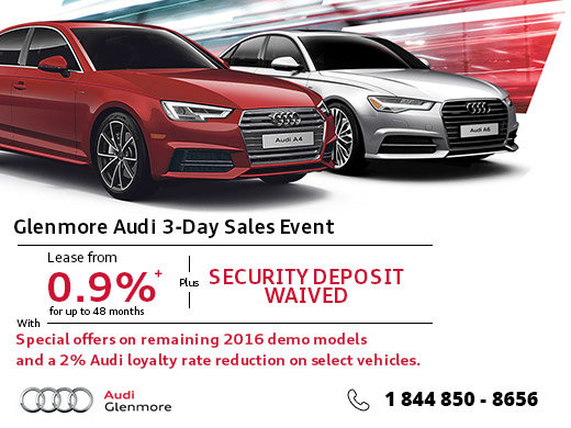 Day Sales Event Glenmore Audi Promotion In Calgary - Day audi