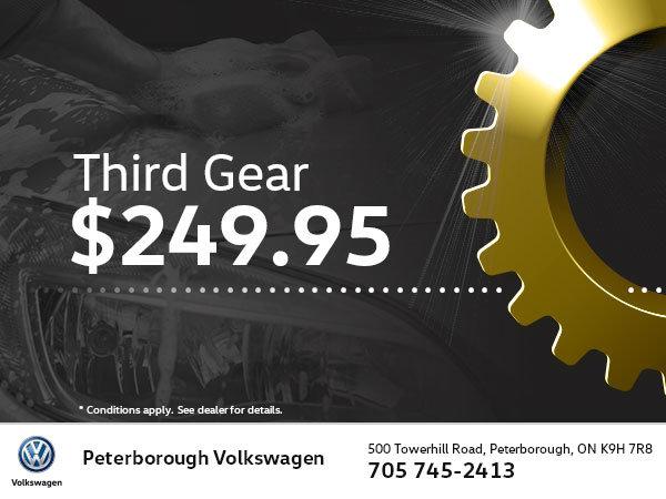 Third Gear Detailing Package $249.95