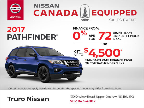 Get the New Nissan Pathfinder Today!