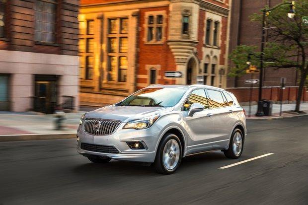 Buick Envision 2017 : le tout nouveau VUS de luxe compact