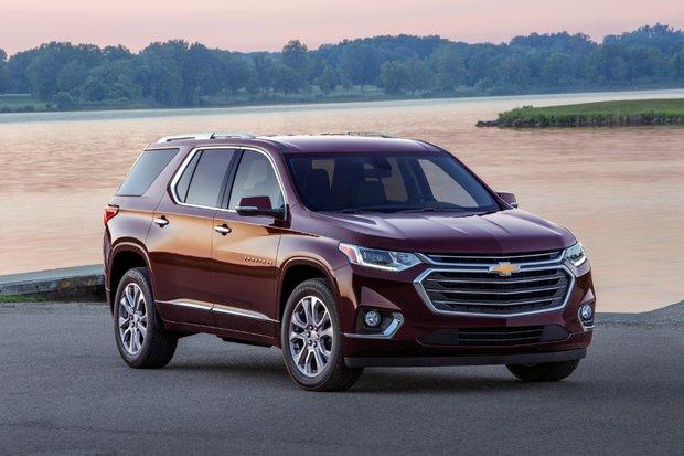 Le Chevrolet Traverse se réinvente pour 2018