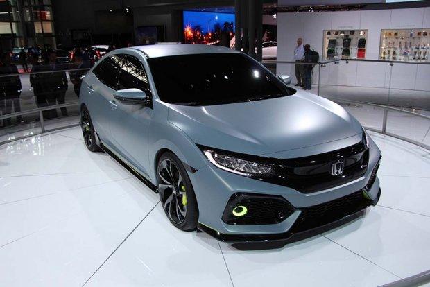 Honda dévoile la Civic Hatchback à New York