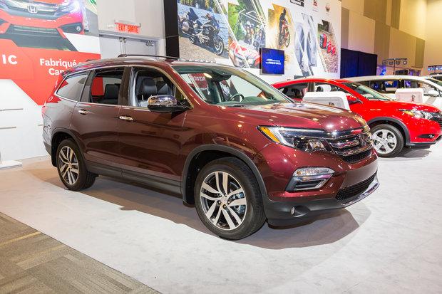 Ottawa Auto Show: 2016 Honda Pilot