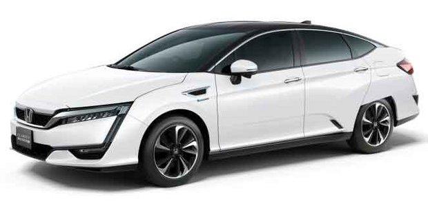 La Honda Clarity à moteur hybride rechargeable arrive en 2017