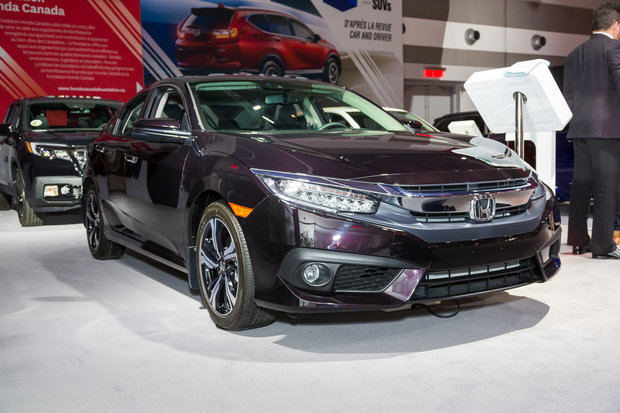 2017 Ottawa Auto Show: 2017 Honda Civic