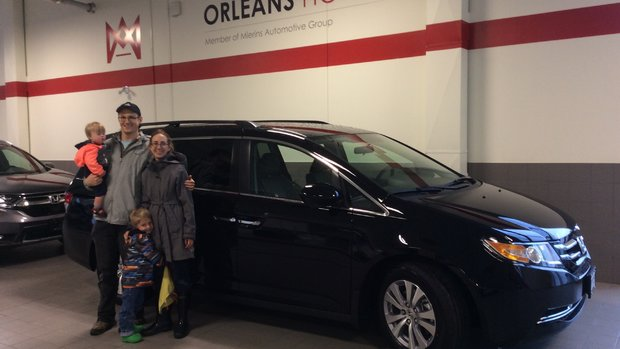 New Honda Odyssey