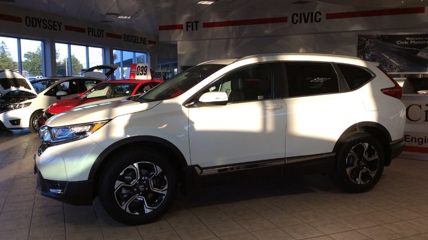 2017 Honda CRV Touring