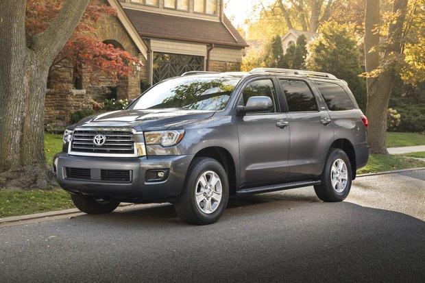 Impressionnant et puissant, le Toyota Sequoia 2018 impose sa présence partout
