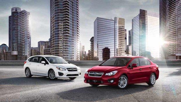 2014 Subaru Impreza – Standard AWD instils confidence