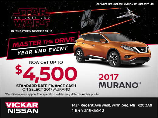 Save On A New 2017 Murano Today