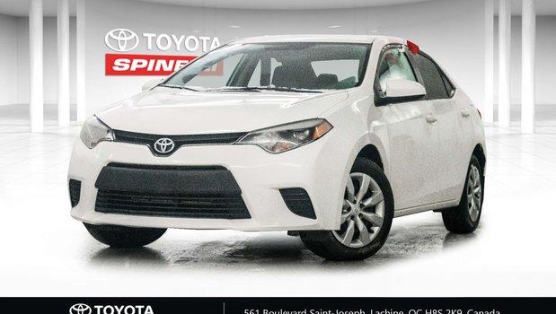 Toyota Corolla CAMERA DE RECUL 2014