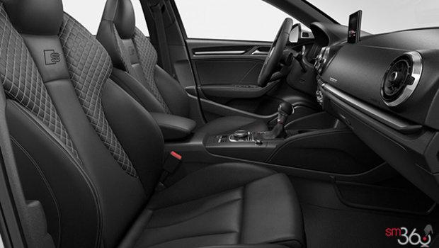 Black Nappa Leather w/Rock Grey Stitching