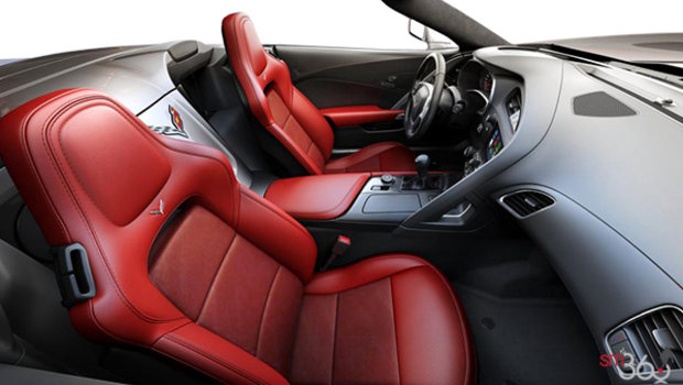 Adrenaline Red Leather w/Sueded Microfibre Inserts