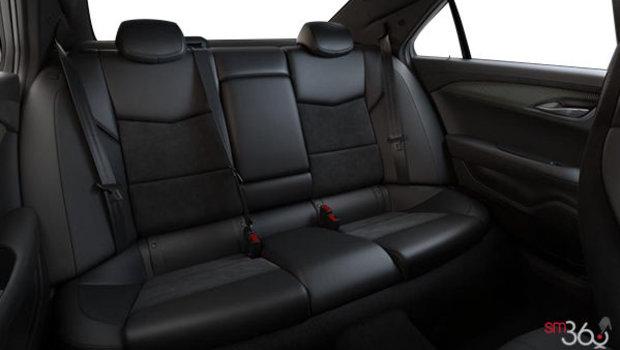Cuir Recaro Noir jais (W2E-HG3) avec dossiers de sièges et empiècements en microfibre suédée