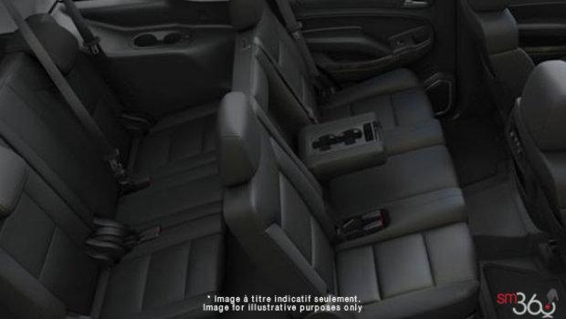 Jet Black Premium Cloth Bench (HOU-AZ3)