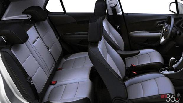 Jet Black/Light Ash Grey Bucket seats Leatherette (AEX-AR9)