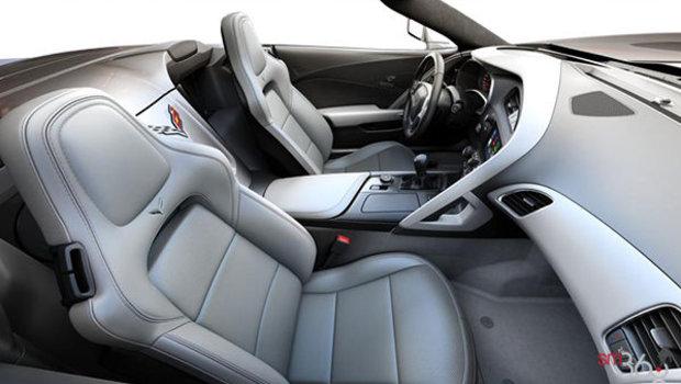 Sièges baquets GT en cuir napa perforé gris (145-AQ9)
