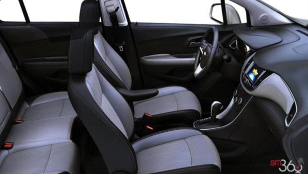 Jet Black/Light Ash Grey Bucket seat Deluxe Cloth/Leatherette (AET-AR9)