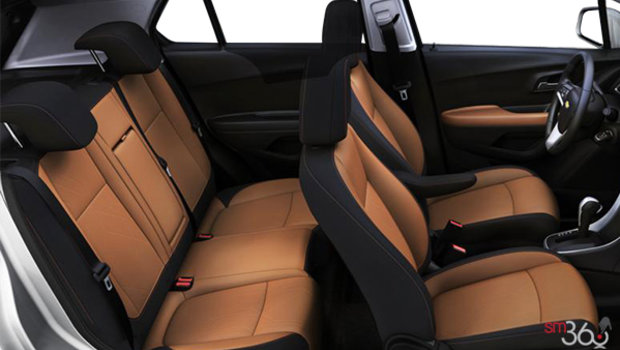 Jet Black/Brandy Bucket seats Deluxe Cloth (AFR-AR9)