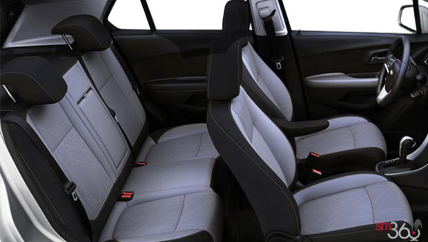 Jet Black/Light Ash Grey Bucket seats Deluxe Cloth (AFQ-AR9)