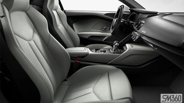 Black Nappa Leather Sport Seats/Rock Gray Stiching