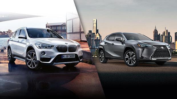 BMW X1 2019 vs Lexus UX 2019 à Montréal