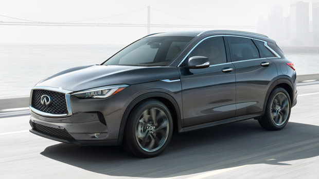The 2019 Infiniti QX50 received the Best Mid-Size SUV award from the AJAC