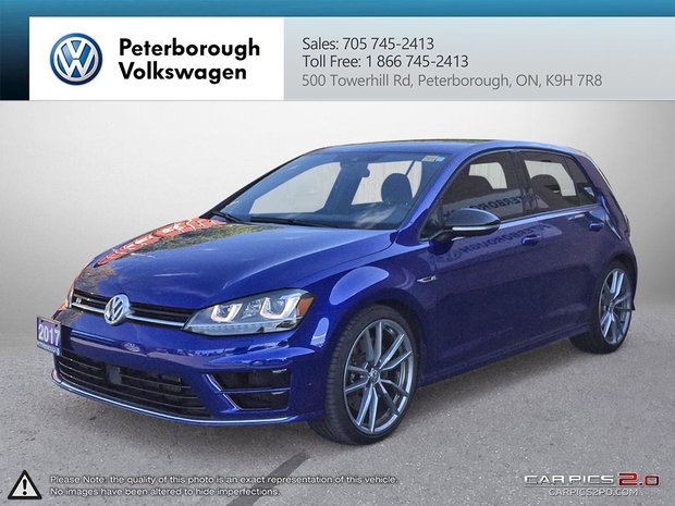 Used 2017 Volkswagen Golf R 5-Dr 2 0T 4MOTION at DSG for