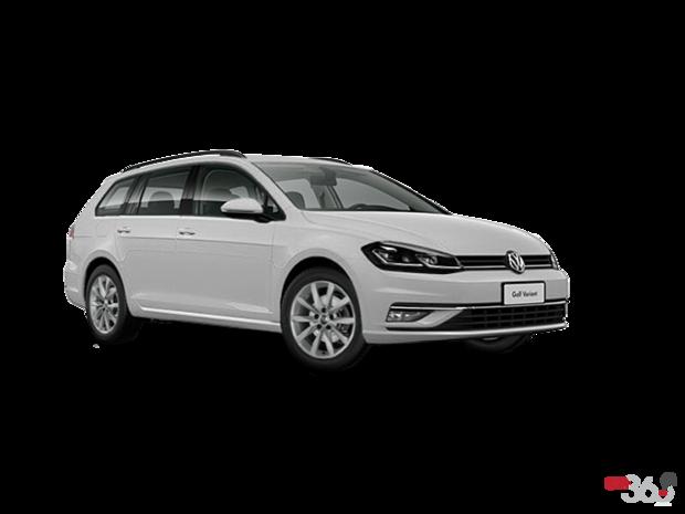 2018 Volkswagen Golf Sportwagen 1.8T Comfortline 6sp at w/Tip