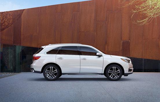 Acura MDX 2017 : un nouveau look et encore plus