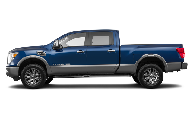 Nissan Titan XD Gas PLATINUM 2018