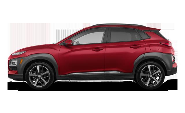 Hyundai Kona ULTIMATE Black with Red Trim 2019