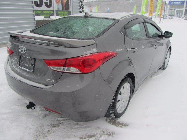 Hyundai Elantra Limited 2013 CUIR+TOIT+GR ELECTRIQUE