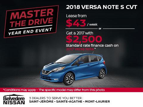 2018 Versa Note