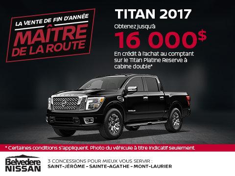 Titan 2017 en rabais!